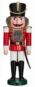 nutcracker hussar red