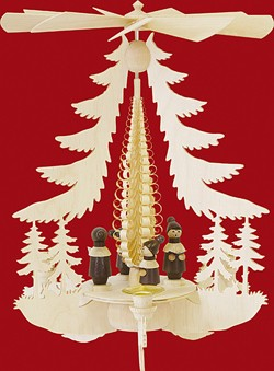 Pyramid Carolers with hat