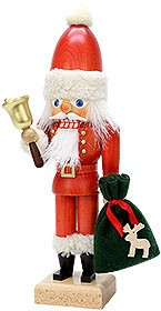 nutcracker Santa Claus with bell