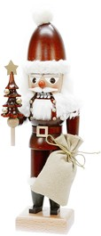 Nutcracker santa claus natural