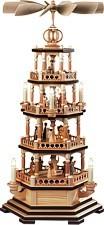 Pyramid Bible story brown socket 4-storey natural