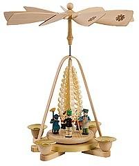 Christmas pyramid, toys