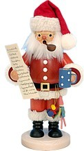 Smoker man santa with wishlist