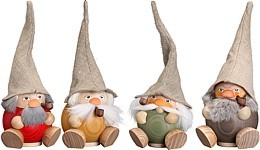 spheric incense smoker -the forest dwarfs-