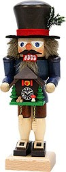 nutcracker black forest with cuckoo clock