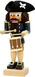 nutcracker drummer blue