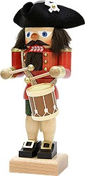 nutcracker drummer red