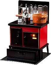 the attractive multi-purpose cooker, black/red