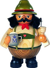 incense smoker Bavarian on Oktoberfest, small