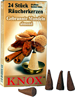 KNOX Incense - roasted almonds