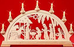 candle arch nativity inhouse
