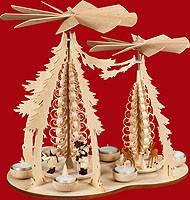 tealight pyramid carolers