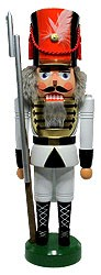 nutcracker soldier white