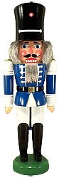 Watch Soldier Nutcracker (blue)