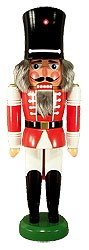 Watch Soldier Nutcracker (red)
