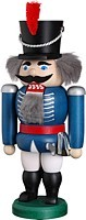 nut cracker hussar, blue