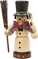 nutcracker snowman natural