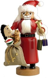 Nutcrackers Santa Claus with bag
