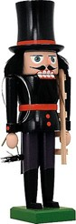 Nutcrackers Chimney sweep red set off