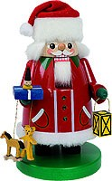 nutcracker Santa Claus with Swarovski stones