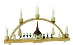 candle arch seiffen church electrical