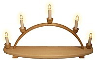 candle arch for own decorating