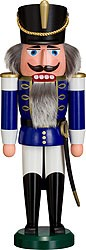 nutcracker hussar blue