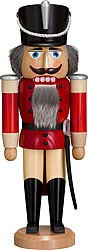 nutcracker hussar ash tree glazed red