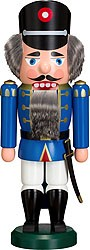 nutcracker policeman blue