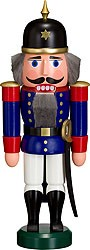 nutcracker soldier blue
