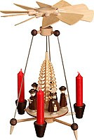 needle pyramid with carolers